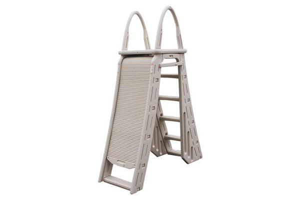 Confer Roll Guard A-Frame Ladder - PIoneer Family Pools