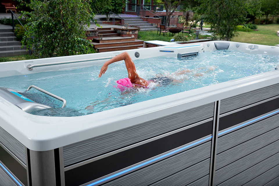 E700 Endless Pool Fitness System - London London Pioneer Family Poolss - Gallery